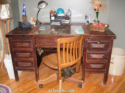 Ancien bureau de travail vendre annonces class es - Mobilier de bureau a vendre ...