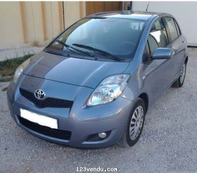 Annonces classees img:preview Toyota Yaris-II 5portes 100 VVT-I, Année: 2009