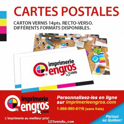 Annonces classees img:preview CARTES POSTALE - IMPRIMERIE