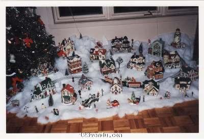 Village De Noel Miniature A Vendre village de noel à vendre   Annonces Classées   123vendu.com