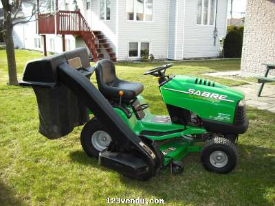 Tracteur pelouse john deer